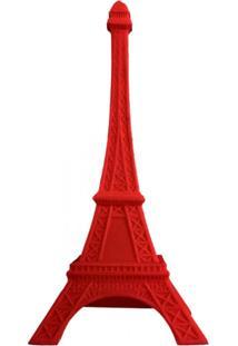 Luminária Casa Da Mãe Joana Torre Eiffel Vermelha