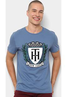 Camiseta Tommy Hilfiger Estampa New York Masculina - Masculino