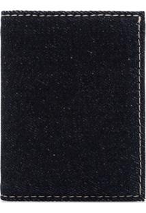 Comme Des Garçons Wallet Carteira Brick Jeans - Azul