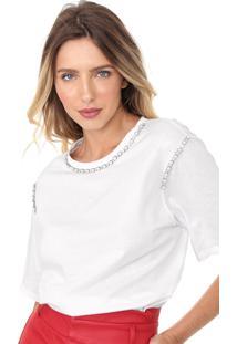 Camiseta Dimy Pedraria Branca