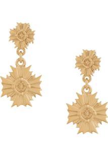 Meadowlark August Drop Earrings - Dourado