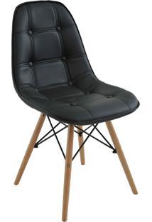 Cadeira Eiffel Sem Braã§O Botone Preto Rivatti Mã³Veis - Preto - Dafiti