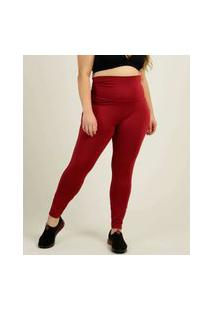 Calça Plus Size Feminina Legging Fitness Costa Rica