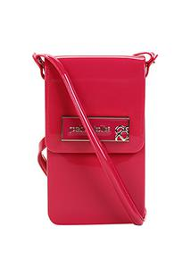 Bolsa Petite Jolie Mini Bag Verniz Feminina - Feminino-Rosa