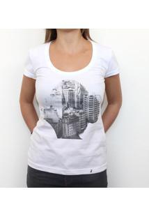Old São Paulo - Camiseta Clássica Feminina