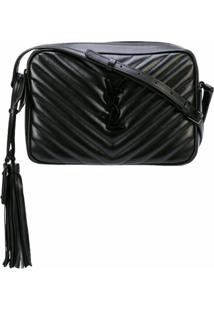 Saint Laurent Bolsa Transversal Lou Camera - Preto