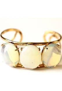 Bracelete 03 Pedras Da Lua Twik