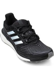 Tênis Adidas Energy Boost Masculino - Masculino-Preto+Branco