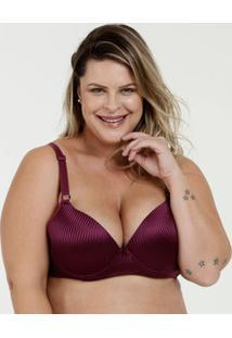 Sutiã Feminino Com Base Jacquard Plus Size Marisa