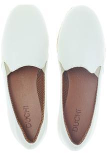 Alpargata Duchi Class Comfort Feminina - Feminino-Branco