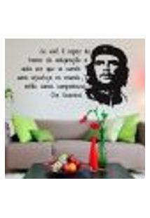 Adesivo De Parede Frase Che Guevara - Médio