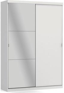 Guarda-Roupa 2 Portas De Correr E 3 Gavetas Branco A529-Br Kappesberg