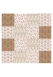Papel De Parede Autocolante Rolo 0,58 X 3M - Azulejo Floral 233193448