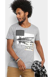 Camiseta Colcci Estampada Nyc Masculina - Masculino