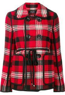 Dsquared2 Madras Jacket - Vermelho