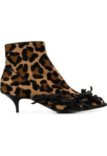 Nº21 Ankle Boot Animal Print - Neutro