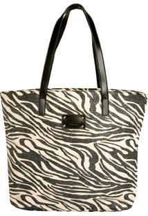 Bolsa Colcci Zebra Preta
