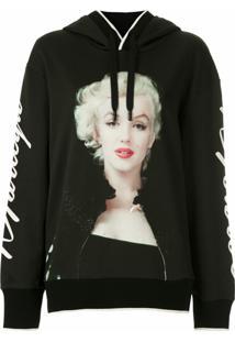 Dolce & Gabbana Blusa De Moletom Estampada - Preto