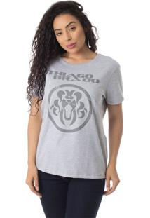 Camiseta Turnê A Jornada Thiago Brado Slim 6027000009 Cinza