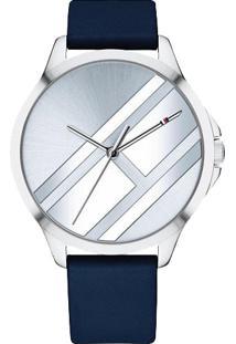 1ffc226cb44 ... Relógio Tommy Hilfiger Feminino Couro Azul - 1781964