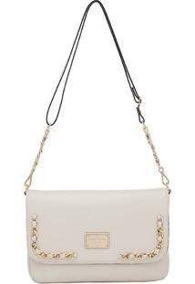 68a2825ab9 ... Bolsa Smartbag Transversal - Feminino-Off White