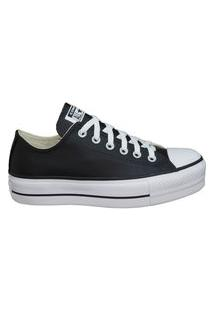Tênis Converse Chuck Taylor All Star Platform Ox Preto/Branco Ct09830002.43