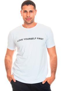 Camiseta Bloom Love Yourself Liverpool Branco