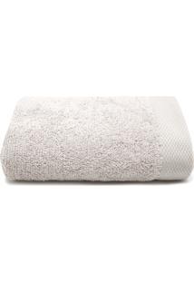 Toalha De Rosto Karsten Cotton Prime Cinza 48 X 80