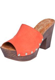 Sandália Dakota Clog Vermelha
