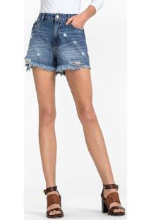 8601afe371 Dzarm Web Store. Shorts Jeans Em Algodão Na Base ...