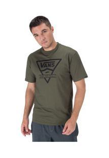 Camiseta Vans Classic - Masculina - Verde Escuro