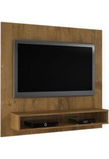 Painel Tv Até 47 Polegadas Níquel Com Suporte Tv Grátis Jcm Movelaria -Nobre Soft