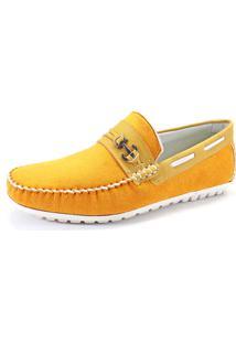Mocassim Infantil La Faire 3051 Amarelo
