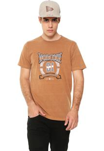 Camiseta Volcom Speed Away Caramelo