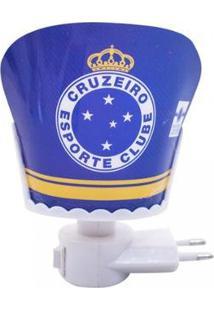 Luminária Brasão Cruzeiro - Unissex-Azul