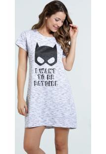 Camisola Feminina Batgirl Liga Da Justiça