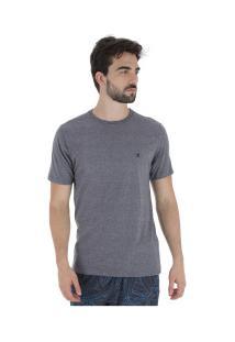 Camiseta Hurley Silk Incon - Masculina - Cinza Esc Mescla