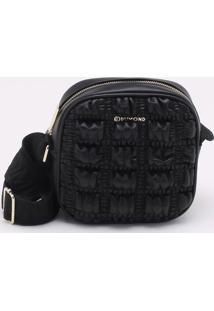 Bolsa Shoulder Bag Matelassê Padded Preta