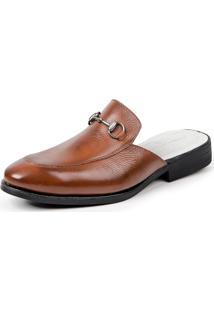 Sapato Sandro Moscoloni Mule Colection Marrom Claro