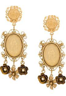 Dolce & Gabbana Brincos - Dourado