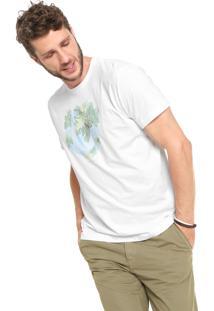 Camiseta Richards Aquarela Branca