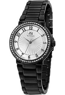 Relógio Champion Analógico Ah28633D Feminino - Feminino-Preto