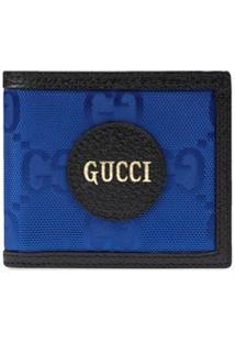 Gucci Carteira Gucci Off The Grid Dobrável - Azul