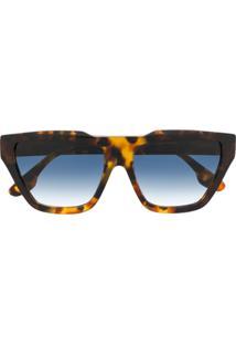 Victoria Beckham Óculos De Sol Quadrado Vb145S - Marrom