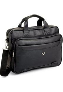 Bolsa Pasta Executiva Anthony Para Notebook 15.6' Viccina - Masculino-Preto