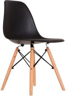 Cadeira Charles Eames I Preta