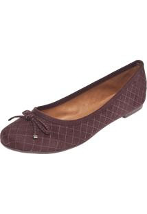 Sapatilha Dafiti Shoes Matelasse Marrom