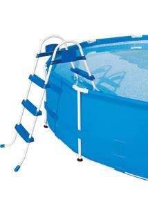 Escada Para Piscina 3 Degraus Premium Bel Lazer - Kanui