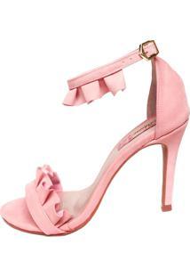 Sandália Blume Calçados Melody Rosa - Tricae