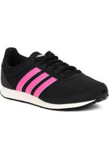 tenis adidas preto e rosa